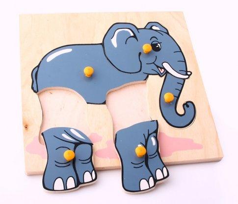 Слон (5 дет. 24х24х1 см)