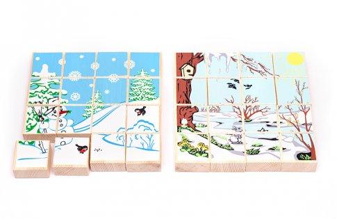 Времена года. Зима/Весна (16 дет.)