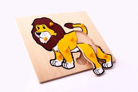 Лев (30х24 см 8 дет.)