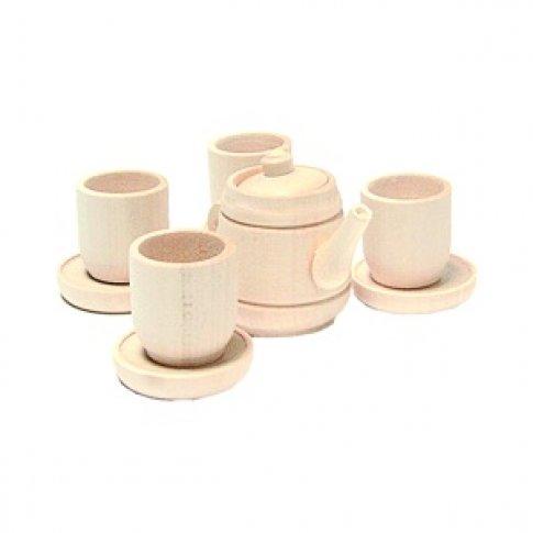 Чайный сервиз на 4 персоны (10 дет. 13х15 см)