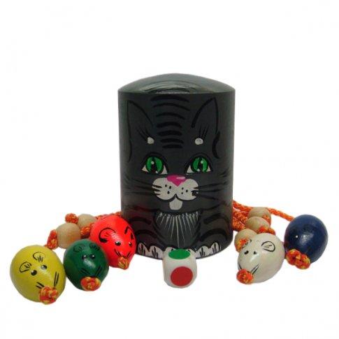 Игра Кошки-мышки (Серый кот)