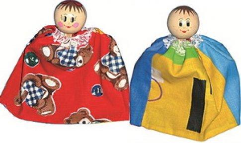 Ванюша и Катюша кукла-перевертыш (23,5 см)