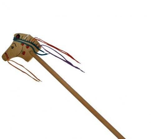 Лошадка-скакалка малая (в яблоках) (100х20 см)