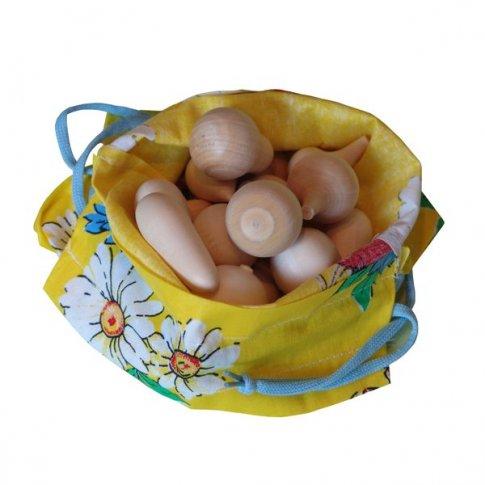 Волшебный мешочек овощи (16 пар 15х19 см)