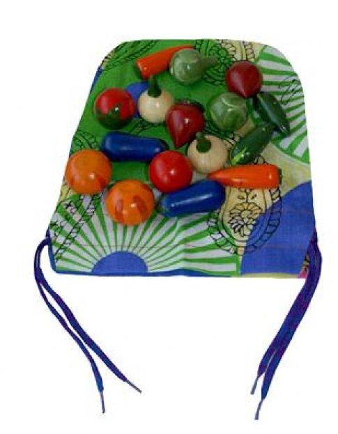Волшебный мешочек овощи цветные (8 пар 15х19 см)