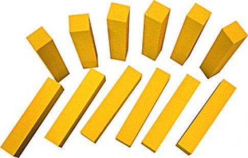 Счетные палочки 12 шт. желтые