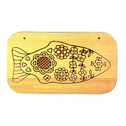 Доска под роспись с контуром Рыбка