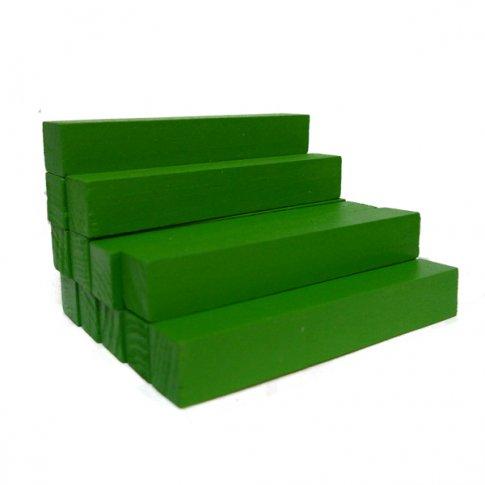 Счетные палочки 12 шт. зеленые