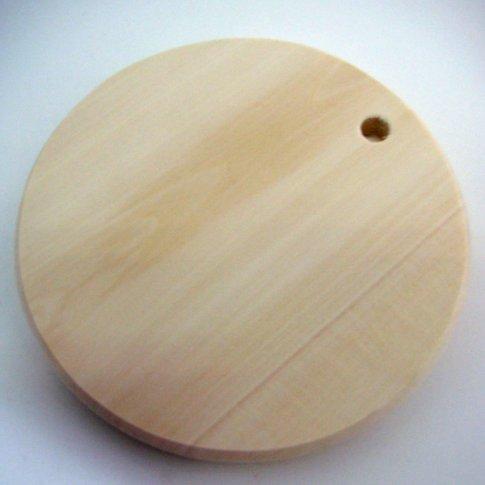 Доска под роспись кухонная круглая (15см диаметр)