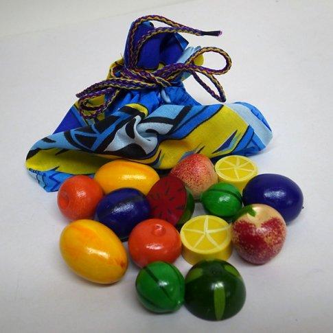 Волшебный мешочек  Фрукты-ягоды цветные тип 2 (14 дет.)