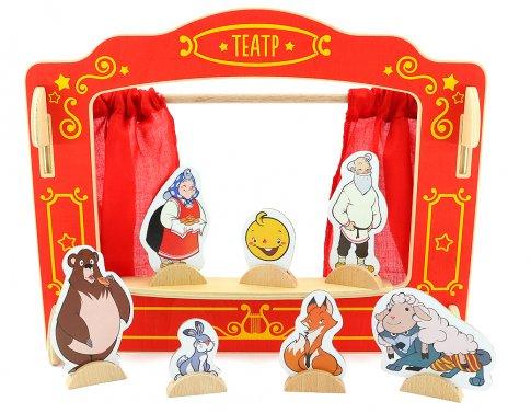 Кукольный театр (42x6x42 см)