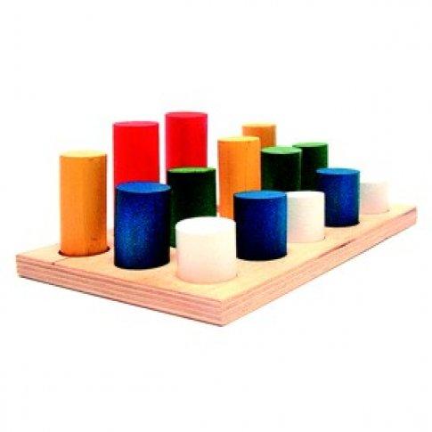 Цилиндры втыкалки (3 ряда)