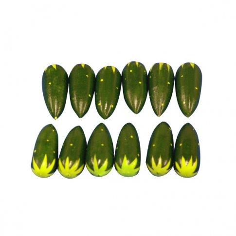 Огурцы (12 шт. 12х15 см)