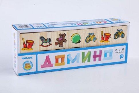 "Домино ""Игрушки"" (28 шт.)"