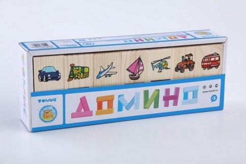 "Домино ""Транспорт"" (28 шт.)"
