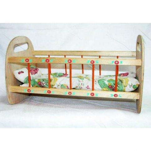 Кукольная кроватка (50х25х25 см)