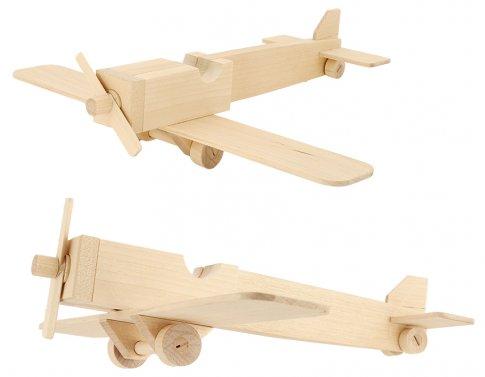 Самолет-моноплан (19 дет. 27х7х3 см)