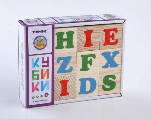 "Кубики ""Алфавит"" английский (12 шт.)"