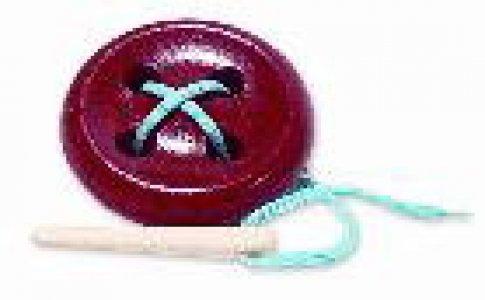 Пуговица 4-х дыр крашеная (12х12 см)