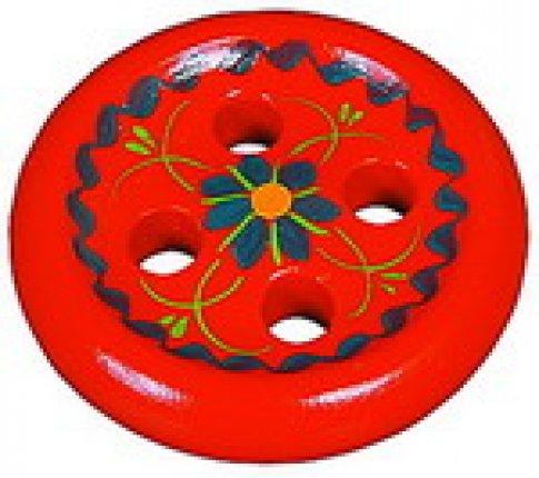 Пуговица 4-х дыр сувенирная (12х12 см)
