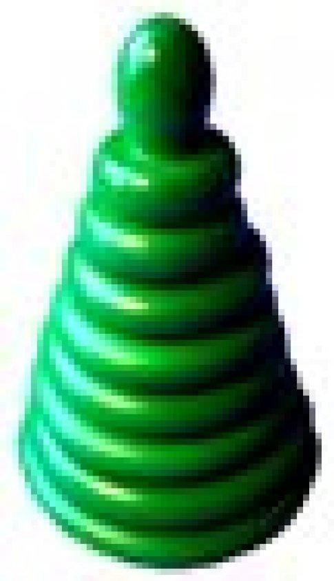 Пирамидка Зеленая (8 дет.)