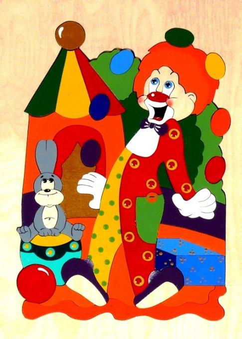 Цирк (50 дет. 21x29,7x1 см)