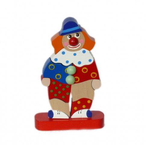Клоун Клепа (10 дет. 10х17,5х4 см)