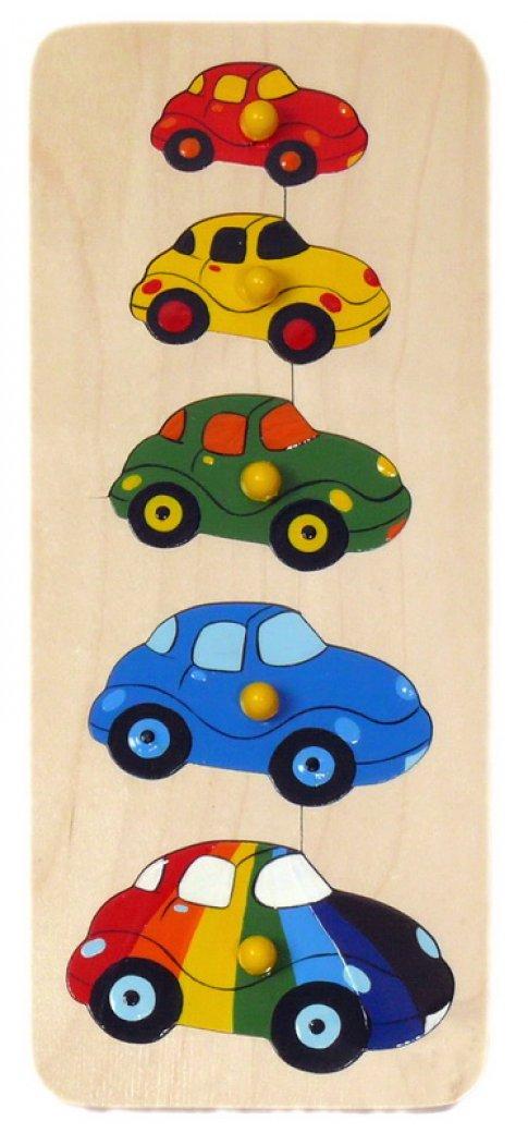 Машинки (5 дет. 10x28,5x2 см)