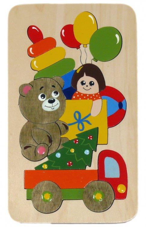 Подарки (18 дет. 12x21x1 см)
