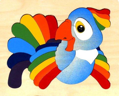 Попугай (29 дет. 21x17x1 см)