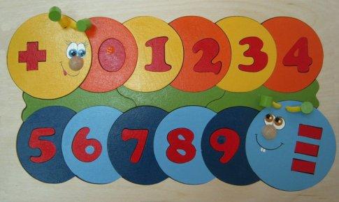 Учимся считать (30х18 см 39 дет.)