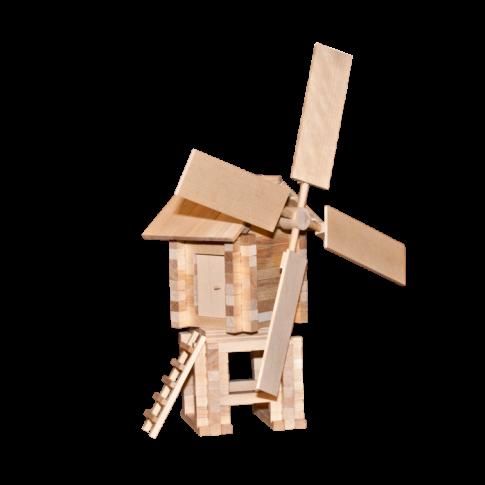 Ветряная мельница (146 дет. 32х35х17 см)