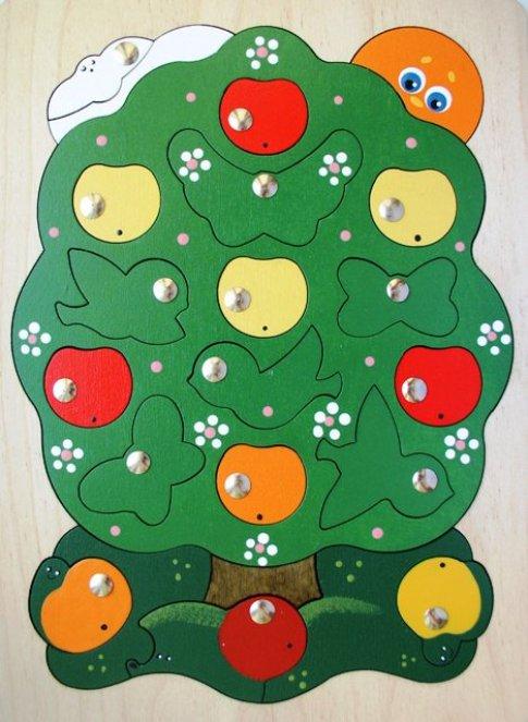 Яблоня-загадка (23 дет. 21x29,7x1 см)
